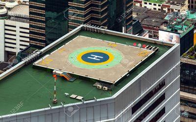 ضوابط استقرار هلی پد روی ساختمانهای بلند